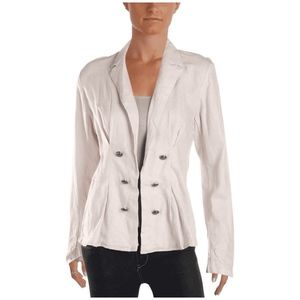 Nwt Free People Cinched Waist Linen Blend Blazer